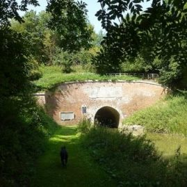 Bruce Tunnel on the Kennet & Avon Canal